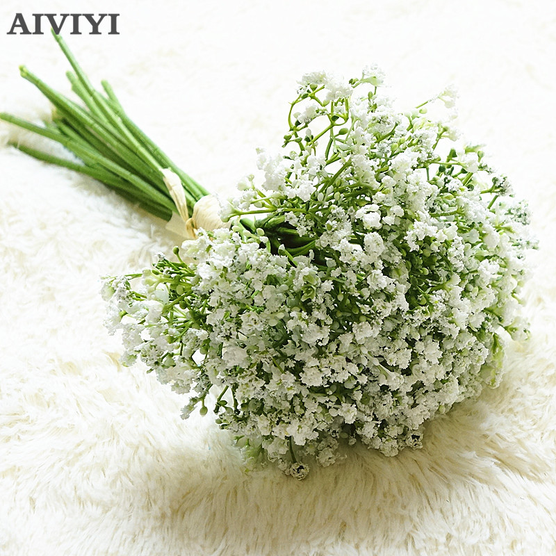 Gypsophila night fragrant starry artificial flower Baby's Breath home decoration wedding bouquet accessories Party handmade
