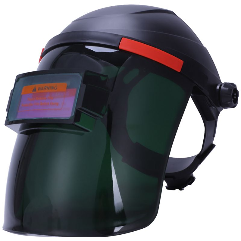 Automatic Dimming Head Mounted Solar Electric Protective Glasses Welding Mask Pc Material Anti Splash|  - title=