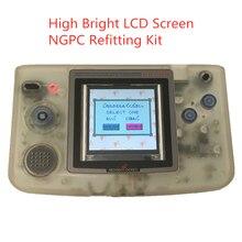 2.2 סנטימטרים NGPC גבוהה בהירות LCD מסך, NGPC תאורה אחורית מסך NGPC LCD עבור NEOGEO כיס צבע