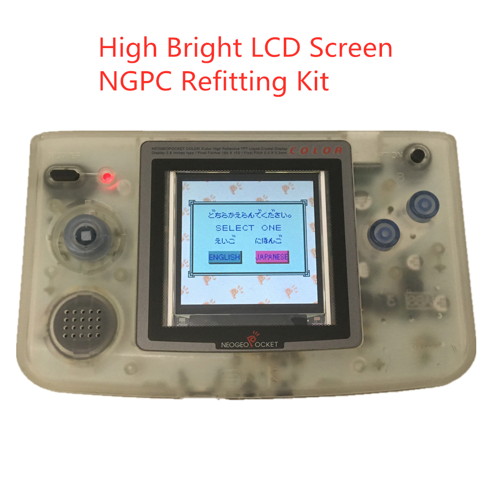 2 2 inches NGPC high brightness LCD screen NGPC backlight screen NGPC LCD for NEOGEO pocket color