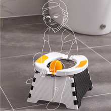 1Pc Folding Children Training Toilet Chair Portable Travel Kids Potty Seat| Outdoor Car Boy Girl Urinal Pee Potty Toilet Chair