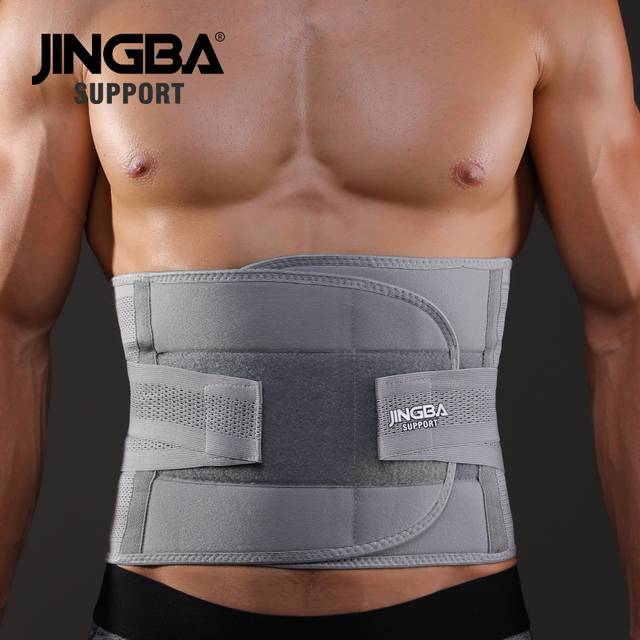 JINGBA SUPPORT fitness sports waist back support belts sweat belt trainer trimmer musculation abdominale Sports Safety factory 1