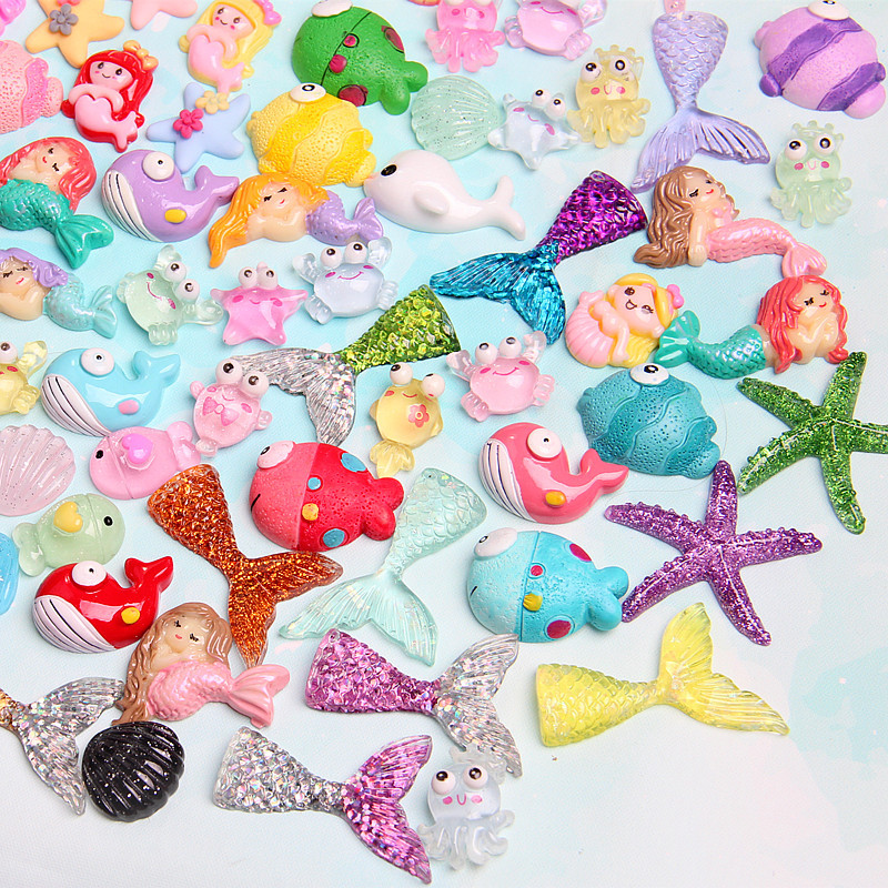 Slime charms 60ml Ball Slime Addition Cotton Charms For Slime Cloud Plastic Fishballs Decoration Toy 22