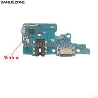 Usb de carregamento doca porto tomada jack plug conector placa carga cabo flexível para samsung galaxy a70 a705f
