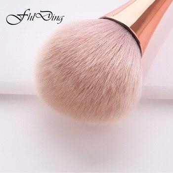 1pc Powder Foundation Brush Makeup Brushes Set Professional Cosmetics Brushes Eye Shadow Lip Brushes Set Face Beauty Makeup Tool 4