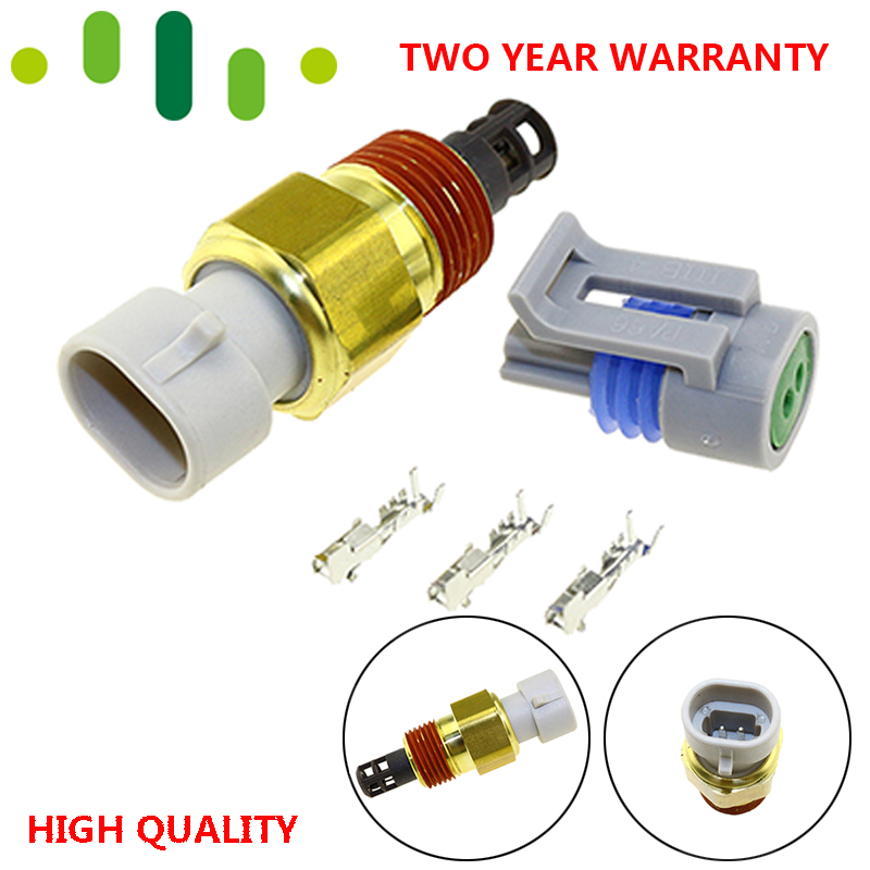 Free Plug Kits Intake Air Temp Temperature Sensor For Chevrolet Express Cadillac Buick GMC Pontiac 25037225 25036751 25037334