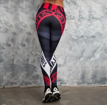 Sexy Women Yo-ga Pants Women Leggings Workout Sports Running Leggings Sexy Push Up Gym Wear High Waist Fringe Elastic Slim Pants 7
