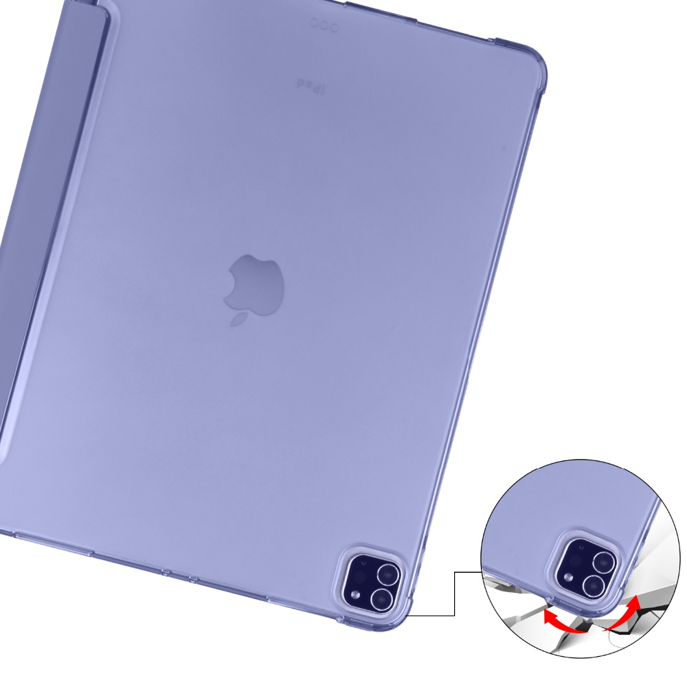 Pencil iPad Soft Shell with 2020 2018 For Case Cover TPU 9 Holder for Pro iPad 12 Apple