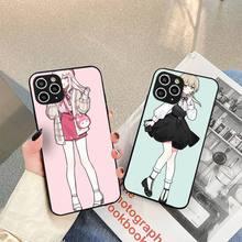 Anime Girl cute Cartoon Japan Phone Case For iphone 5s 6 7 8 11 12 plus xsmax xr pro mini se Cover Fundas Coque