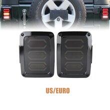 Hot Selling Led Tail Lamp With Running Turn Brake Reverse US Europe Version 12V Lamp For Jeep Wrangler Jk