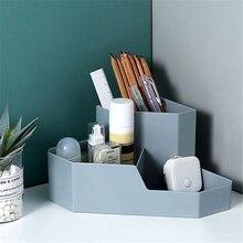 Multipurpose Cosmetic Storage Box Desktop Plastic Storage Box Makeup Organizer Dressing Table Container Mobile Phone Sundries