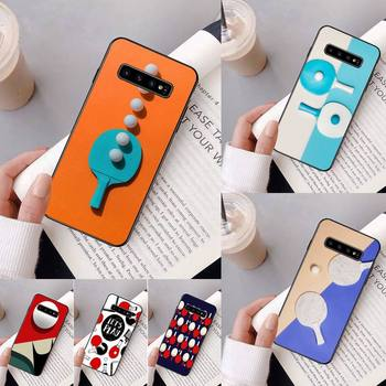 Yinuoda pingpong Bling Cute Phone Case For Samsung Galaxy A50 A30 A71 A40 S10E A60 A50s A30s Note 8 9 S10 Plus S10 S20 S8 image