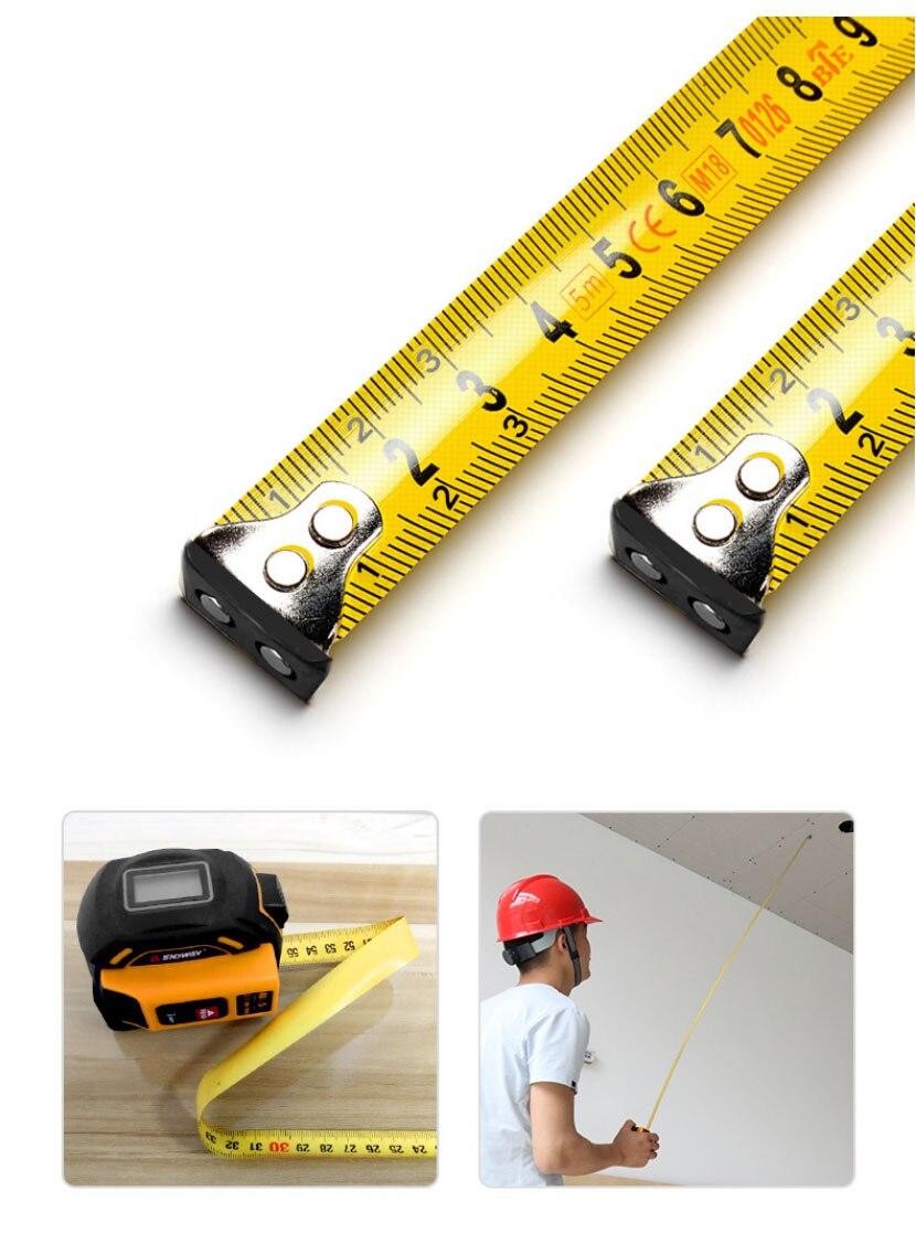 metro régua laser roleta rangefinder medição fita distância ferramentas