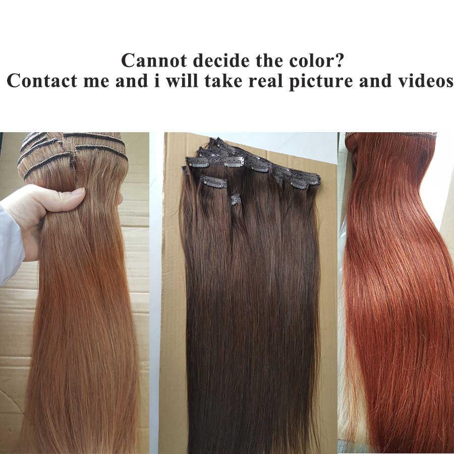 Showcoco Haar Verlängerung Maschine Remy Clip In Menschliches Haar Extensions Koreanische Haar Clips Seidige Gerade Clip In Haar Sommer Verkauf