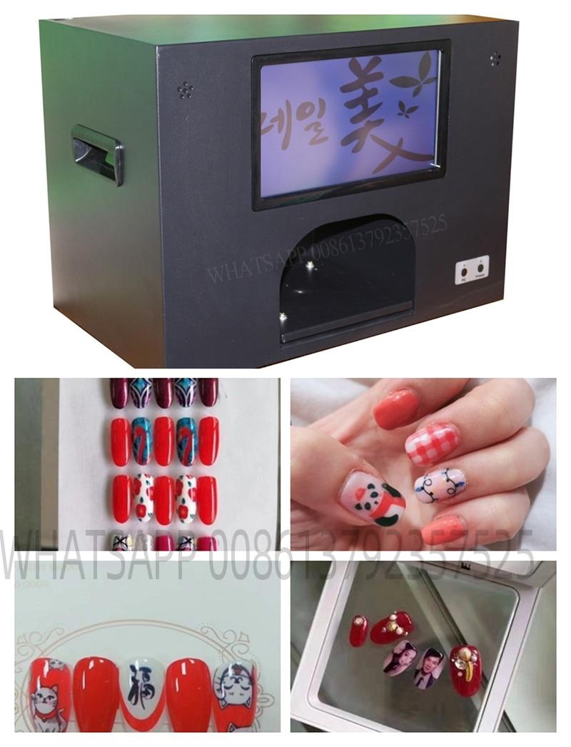 design de unhas impressora de unha arte do prego placas de carimbo manicure polones maquina de
