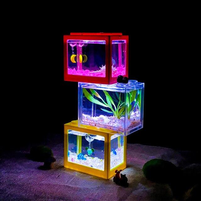 Stackable Desktop Mini Reptile & Fish Tank  4