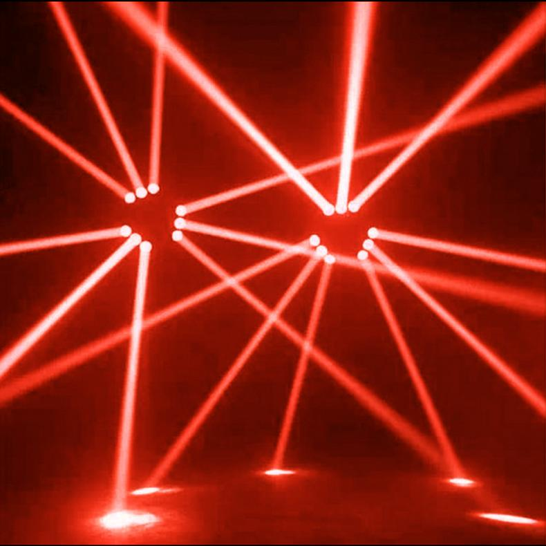 Feixe de Luz LED Pinspot Luz Spotlight 5W Lâmpada Super Brilhante Espelho Bolas de Discoteca DJ Efeito de Iluminação de Palco para KTV DJ Party