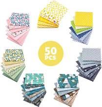 50 моделей 25 см x хлопчатобумажная ткань набойки Вышивание