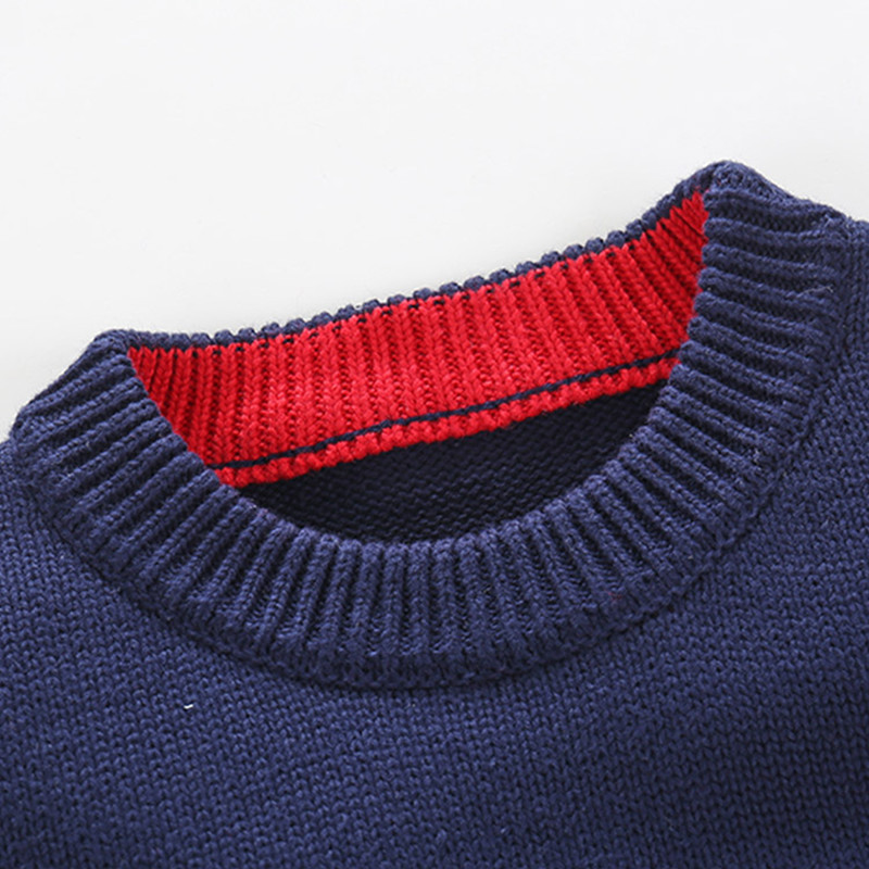 Boys Cotton Sweaters,Kids O-Neck Winter Clothes,Children Car Printed Casual Outerwear 5
