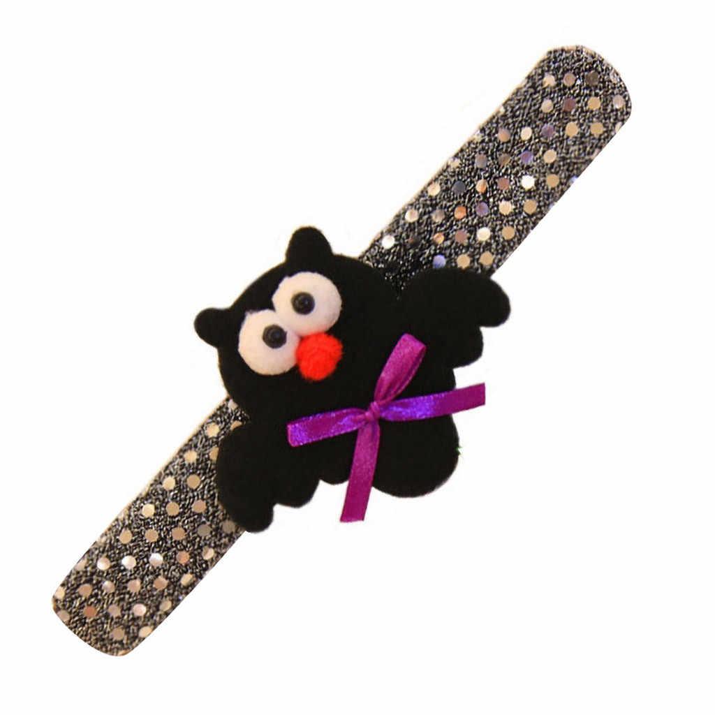 Halloween clap circle costumi di performance di danza puntelli forniture per bambini di zucca pipistrello paillettes decorativo braccialetto Per Il Partito