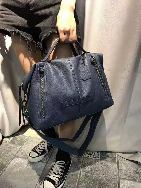 Designer Handbag Women Genuine Leather Bag Luxury Casual Tote Ladies Shoulder Messenger Bags Real Cowhider Hand Bag Sac A Main