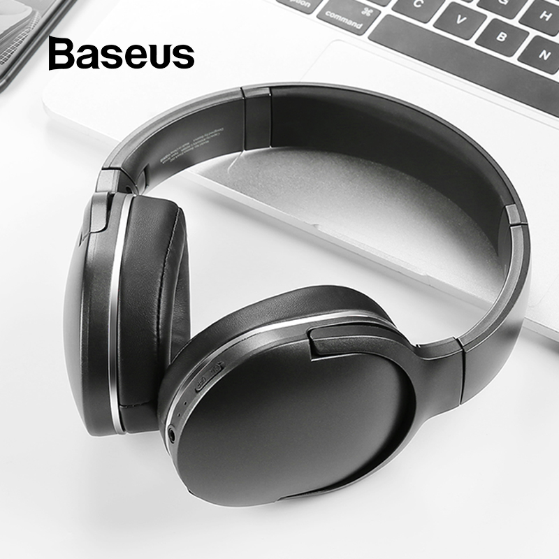 Baseus D02 Bluetooth Headphone Foldable bluetooth headset Wireless headphones Portable Bluetooth Earphone with Mic for Phone 3 in 1 corner rounder