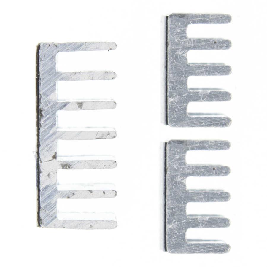 3 قطعة + perekat التوت بي ، مورني أنبوب تدفئة من الألومنيوم مجموعة المبرد لبيندينغنان التوت بي 2 B مجانية