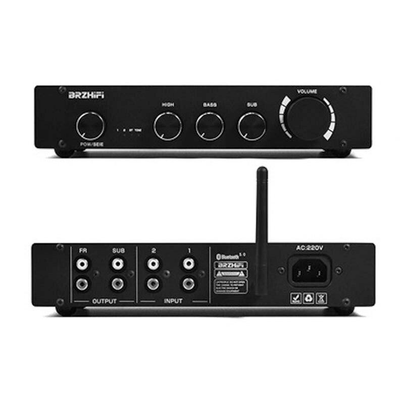 Усилитель звука Hifivv Pure CLass A, Bluetooth 5,0 DAC 5532 Op Amp 2,0/2,1, канальный предусилитель для домашнего динамика