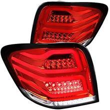 Для красного Mercedes Benz W164 ML-Class полный светодиодный задний фонарь задние противотуманные тормозные лампы пара