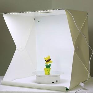 Image 3 - 40 x 40 x 40 cm Photo Studio Box Photography Backdrop Built in Light Photo Box Little Items Photography Box Studio Accessories