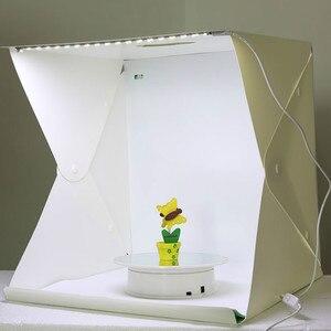 Image 3 - 40x40x40 cm namiot do zdjęć fotografia tło wbudowana lekka budka foto małe przedmioty fotografia Box Studio akcesoria