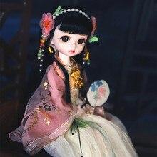 Dbs sonho fada boneca 1/6 bjd nome por pouco anjo mecânico corpo comum com maquiagem, incluindo couro cabeludo, olhos, roupas meninas sd,