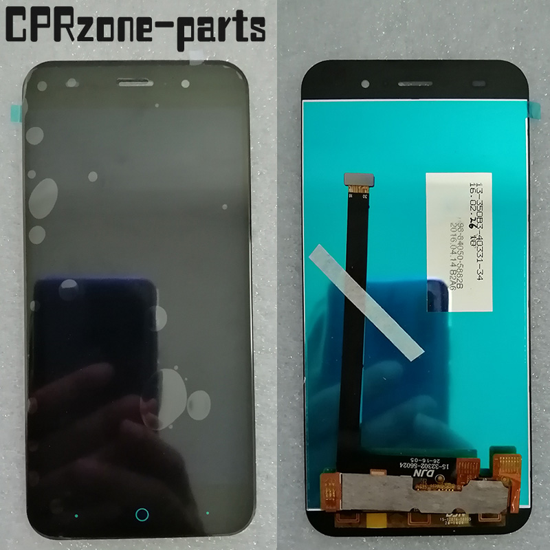 5.0 Black For ZTE Blade V6 X7 D6 Z7 T660 T663 LCD display with touch screen digitizer sensor panel assembly image