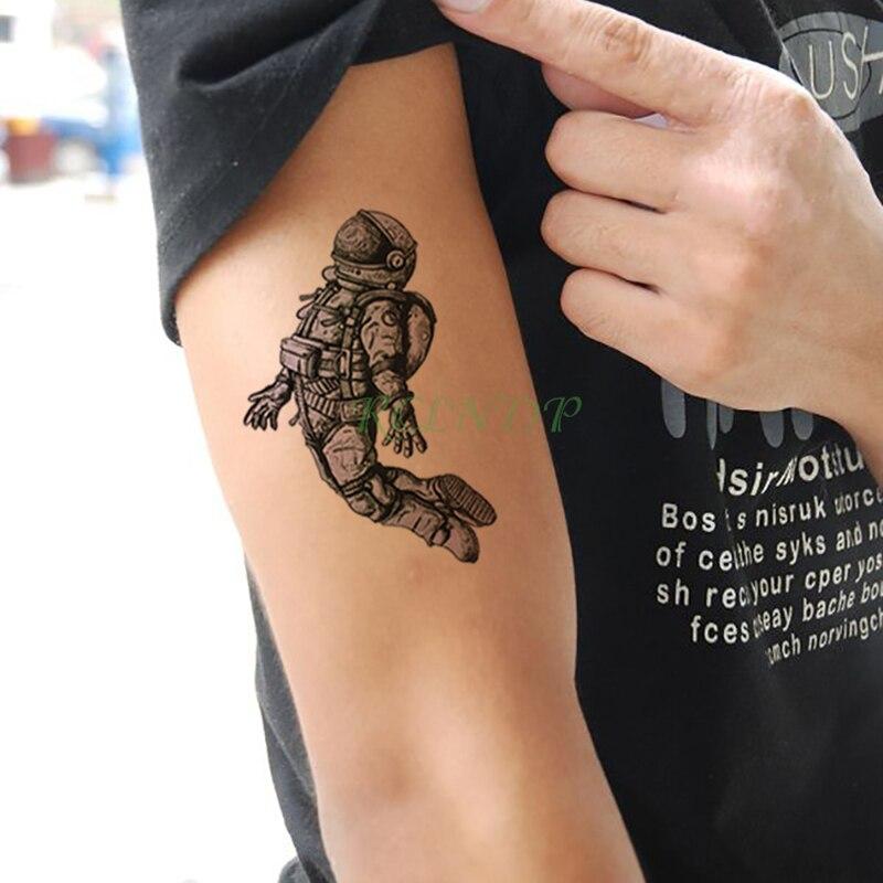 Waterproof Temporary Tattoo Sticker Funny Cool Alien Fake Tatto Flash Tatoo Foot Arm Neck Body Art for kid child men women Обувь