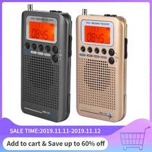 Aircraft Band Radio Receiver VHF Portable Full Band Radio Recorder for AIR/FM/AM/CB/VHF/SW Radio 2019 New(China)