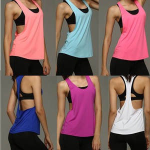Top-Crop Vest T-Shirt Fitness Running Women Sleeveless New-Fashion Charm Quick-Drying