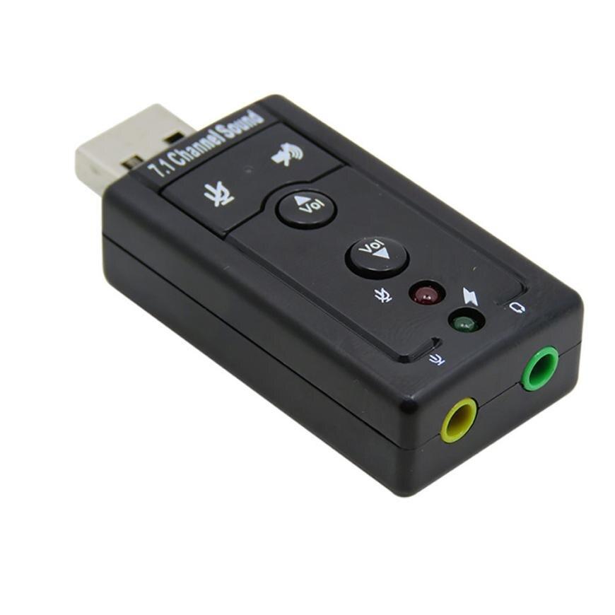 Купить портативный аудио адаптер usb 71 канал esternal 3d звуковая