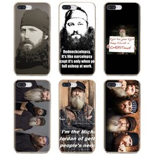 Silicone Cover Duck Dynasty fashion TV show For Huawei G7 G8 P7 P8 P9 P10 P20 P30 Lite Mini Pro P Smart 2017 2018 2019(China)