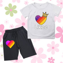 Likee interesting casual 2pieces children's outfit sets
