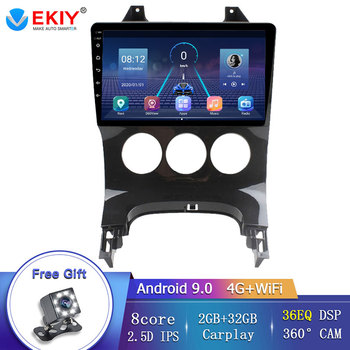 EKIY 9IPS DVD Autoradio Player For Peugeot 3008 2009-2015 8 Core Car Radio Support Bluetooth Mirror link Steering Wheel Control image