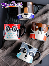 Creative cute cartoon lovers ceramic cup a cup of milk a cup of coffee cup mug cup office свитшот print bar have a cup of stfu