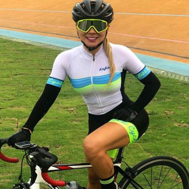 Franesi 2019 pro equipe triathlon terno feminino manga curta camisa de ciclismo skinsuit macacão maillot ciclismo roupas setgel 4