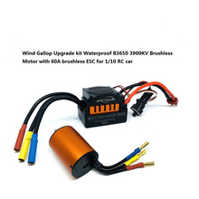 GoolRC Moteur RC Car 1:10 Parts 3650 3660 F540 3500KV 3100KV 3300KV 3800KV 3900KV 4300KV 4370KV Brushless Motor 45A 60A ESC цены онлайн