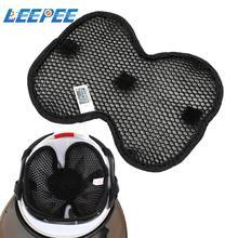 Motorräder Helm Wärmedämmung Pad Atmungs 3D Cellular Netzwerk Helm Inneren Pad Helm Kissen Universal Einsatz Liner