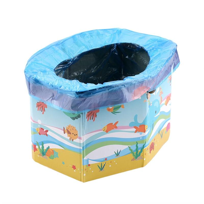New Infant Potty Kids Baby Portable Potty Emergency Foldable Portable Child Toilet Travel Load-bearing 50kg