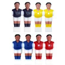 4 pièces Foosball hommes remplacement Table de Football joueur Football Machine accessoires 24BD