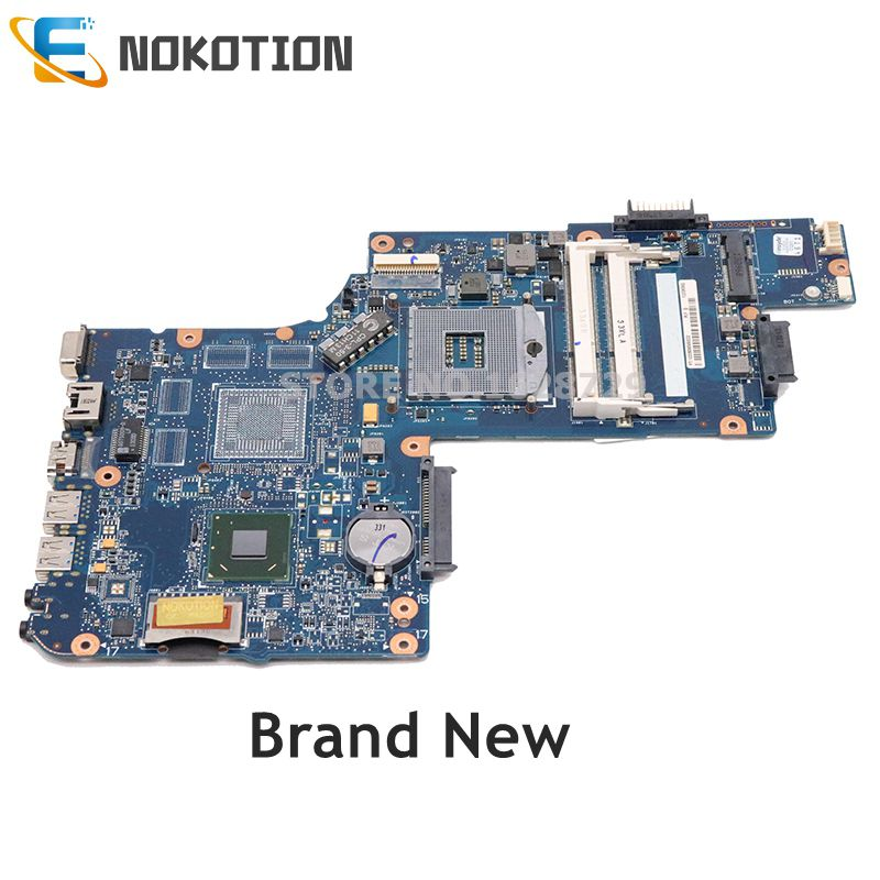 NOKOTION NEW H000051540 H000052600 For Toshiba Stellite C850 L850 Laptop motherboard HM76 DDR3 UMA HD MB full test