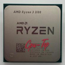 AMD-procesador de CPU AMD Ryzen 3 3100 R3 3100 GHz Quad-Core de ocho hilos 65W L3 = 16M 3,6-100 Socket AM4