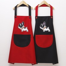 Women's Protective Clothing Fine Art Apron Adult to Paint And Students Pigment Korean-style Oil Resistant Cute One Size Cartoon
