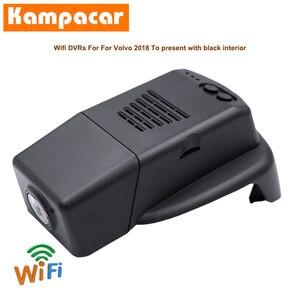 Kampacar Wifi Dash Cam Auto Dvr Camera VLV07-C Fo Volvo S90 V90 Cc XC60 T8 T5 T6 R-Ontwerp estate Polestar Cross Country Dashcam(China)